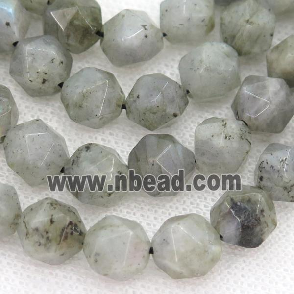 Labradorite Beads, faceted round, starcut (GB12071-6MM) approx 6mm dia