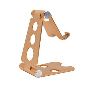 Adjustable Cell Phone Stand, Aluminum, Portable Desktop Phone Holder Dock, rose gold, approx 15-131MM