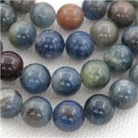 blue Sapphire Beads, round, approx 5mm dia