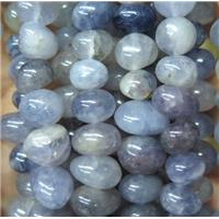 iolite chip bead, freeform, approx 6-10mm